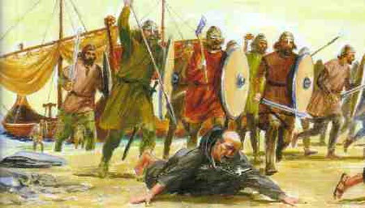 the attack on lindisfarne In england the viking age began dramatically in ad 793 when vikings destroyed the abbey on lindisfarne off the coast of northumbria lindisfarne ws a centre of learning, famous across the continent.